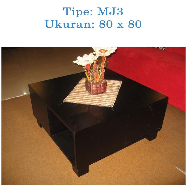 meja minimalis ruang tunggu